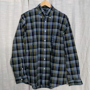 NWT men's M Land's End button up